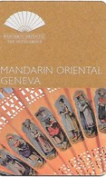 Switzerland: Mandarin Oriental Geneva - Hotelkarten