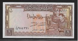 Syrie - 1 Pound - Pick N°93e - NEUF - Siria