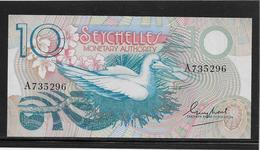 Seychelles - 10 Rupees - Pick N°23 - NEUF - Seychelles