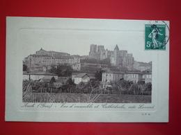 1908 AUCH VUE D'ENSEMBLE ET CATHEDRALE COTE LEVANT  ETAT BON - Auch