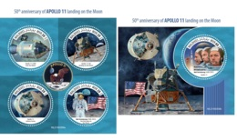 Maldives 2019 Apollo 11 Moon Landing 50th Aniv Neil Armstrong MS+S/S MLD190309 - Unclassified