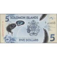 TWN - SOLOMON ISLANDS NEW - 5 Dollars 2019 Polymer - Prefix A/1 UNC - Solomon Islands