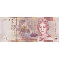 TWN - BAHAMAS NEW - 3 Dollars A.2000 (2019) Prefix A UNC - Bahamas
