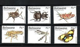 BOTSWANA, 2019 , INSECTS, 6v.  MNH**, NEW!! - Unclassified