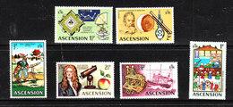 Ascension - 1972. Astronomi E Strumenti Di Misura. Astronomers And Measuring Instruments. MNH - Astronomia