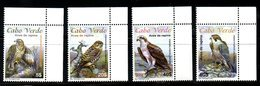 CABO VERDE, 2008, BIRDS- EAGLES, 4v. MNH** - Birds