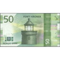 TWN - NORWAY NEW - 50 Kroner 2017 (2018) UNC - Norvegia