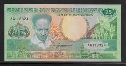 Surinam - 25 Gulden - Pick N°132b - NEUF - Surinam
