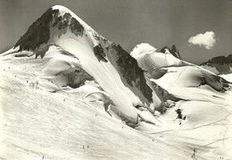 "4602 "" CHAMONIX-TELESKI DANS LA VALLEE BLANCHE ET LE GRAND FLAMBEAU ""  - CART. POST.ORIG. SPED. 1963 - Chamonix-Mont-Blanc"