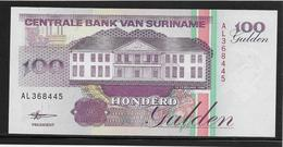 Surinam - 100 Gulden - Pick N°139b - NEUF - Surinam