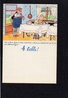 """Menu 2 Volets Neuf Et Vierge / Laboratoires Le Brun / Illustrateur Dessin De """" Bellus """" / On ...le Trou Normand ... - Menus"""