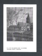 VILVOORDE - O.- L.-VR. VAN GOEDE HOOP - AKWAREL DOOR J. LEEMANS  - FOTOKAART  (12.457) - Vilvoorde
