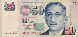 Singapore 50 Dollars, P-49g (2008) - UNC - Singapore