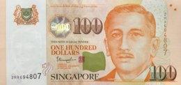 Singapore 100 Dollars, P-50e (2009) - UNC - Singapore