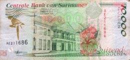 Suriname 10.000 Gulden, P-144 (5.10.1997) - Fine - Suriname