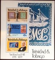 Trinidad & Tobago 1979 Rowland Hill Minisheet MNH - Trinidad & Tobago (1962-...)