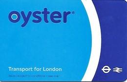 Great Brtain: Oyster - Transport For London - Andere Sammlungen
