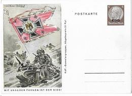 "Wehrmacht  - Entier Postal Avec Surcharge ""Elsass""   - WWII - Weltkrieg 1939-45"