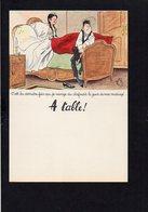 """Menu 2 Volets Neuf Et Vierge / Laboratoires Le Brun / Illustrateur Dessin De """" Bellus """" / C'est Le .....du Clafoutis Le - Menus"""