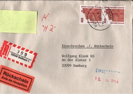 ! 1 Einschreiben 1996 Mit R-Zettel  Aus Selfkant, 52538 - R- & V- Labels