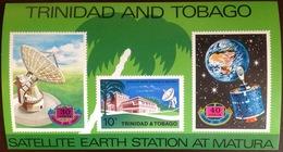 Trinidad & Tobago 1971 Satellite Minisheet MNH - Trinidad & Tobago (1962-...)