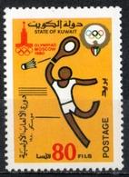 Kuwait 1980 - Badminton MNH ** - Badminton