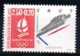 """France 1992 : Timbre N° 2738 Du Feuillet Y&T N° 14  """" Saut à Ski """" - Frankreich"""
