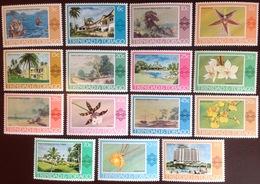 Trinidad & Tobago 1976-8 Paintings, Hotels & Orchids Set MNH - Trinidad & Tobago (1962-...)