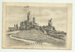 AREZZO - CASTELLO DI ROMENA  - VIAGGIATA  FG - Arezzo