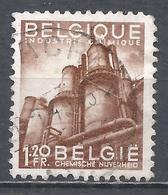 Belgium 1948. Scott #375 (U) Chemical Industry * - 1948 Export