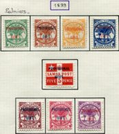 13672 SAMOA Collection Vendue Par Page  Poste Locale 28/31, 32, 33/5 (*)/ * 1899  B/TB - Samoa