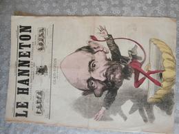 Le Hanneton, Satirique, 1868, Glais-Bizoin, Né à Quintin,député, Par Cattelain,revue De 1867 Par Coppée Et Paul Verlaine - Books, Magazines, Comics