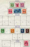 13674 SAMOA  Collection Vendue Par Page  N° 72/7, 83, 5, 87/8, 93 */ ° 1914-16  B/TB - Samoa