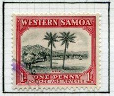 13676 SAMOA  Collection Vendue Par Page  N° 122, 140, 142, 144/7 */ °  1935-46  B/TB - Samoa