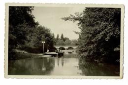 Dompierre Sur Besbre - La Baignade Et Le Pont De La Besbre (pêcheurs Assis Sur Le Ponton) Circulé Sans Date - Frankreich