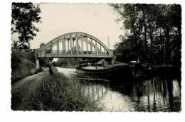 """Dompierre Sur Besbre - Le Pont Des Taillis (péniche """"PIJA"""") - Circulé Sans Date - Frankreich"""