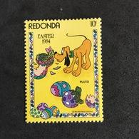 REDONDA. EASTER. MNH. 3R2507F - Disney