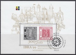 BRD Block 46, Gestempelt, IBRA '99 - Bloques