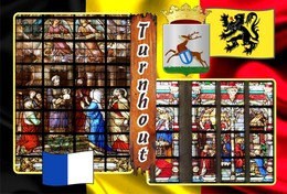 Postcards, REPRODUCTION, Municipalities Of Belgium, Turnhout, Duplex X, 50 Pcs. (448 To 497) - Maps