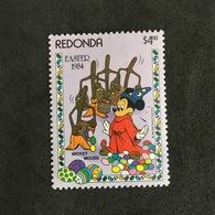 REDONDA. EASTER. MNH. 3R2508C - Disney