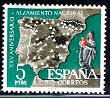 (3E 374) ESPAÑA // YVERT 1034 // EDIFIL 1361 // 1961   NEUF - 1931-Aujourd'hui: II. République - ....Juan Carlos I