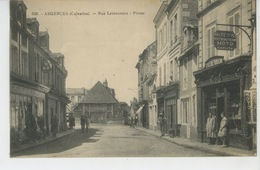 ARGENCES - Rue Letarvernier - Pitrou (commerce EPICERIE PARISIENNE , Pompe Essence Distributeur MOTO NAPHTA ) - France
