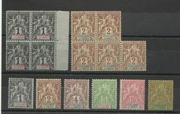 Sénégambie & Niger, 1903, Voir Description Cote YT 66€ - Ungebraucht