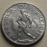 1957 - Autriche - Austria - 1 SCHILLING - KM 2871 - Austria
