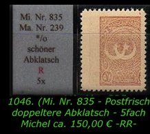 EARLY OTTOMAN SPECIALIZED FOR SPECIALIST, SEE...Mi. Nr. 835 Mit Schönen Seltenen Abklatsch -R- - 1921-... República