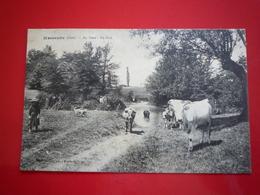CPA MASSEUBE AU GERS LE GUE ETAT BON - Autres Communes