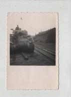 Photo Originale Juin 1945 Leutkirch  Char Tank à Identifier DB - Guerre, Militaire