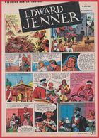 Edward Jenner. Lutte Contre La Variole. Histoire De La Vaccination. Bande Dessinée. Texte Duval. Dessin Chenaval. 1965. - Historical Documents