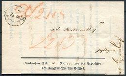 1846 Switzerland Aarau Nachnahme Wrapper - Switzerland