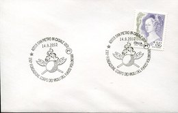 46131 Italia,  Cover With Special Postmarks, San Pietro In Casale Bologna  2002, Pompieri, Feuerwehr,fireman,pompiers - Pompieri